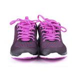 Lila sko i två storlekar