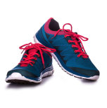Blå sko - utvald